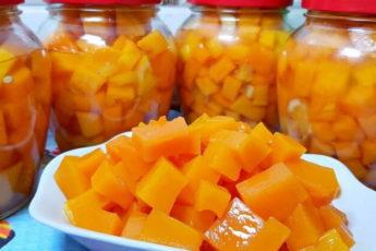 И 20 банок будет мало! Сочный манго из тыквы на зиму, вкусно и полезно