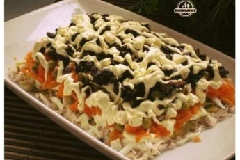 Рецепт этого салата будут выпрашивать все гости.