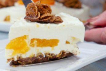 Замечательно вкусный творожный торт без выпечки.