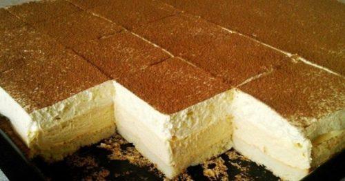 Рецепт невероятно вкусного ванильного десерта «Ледяные кубики» 1