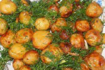 Рецепт самой вкусной жареной картошечки и необычного салата с молодым картофелем 1