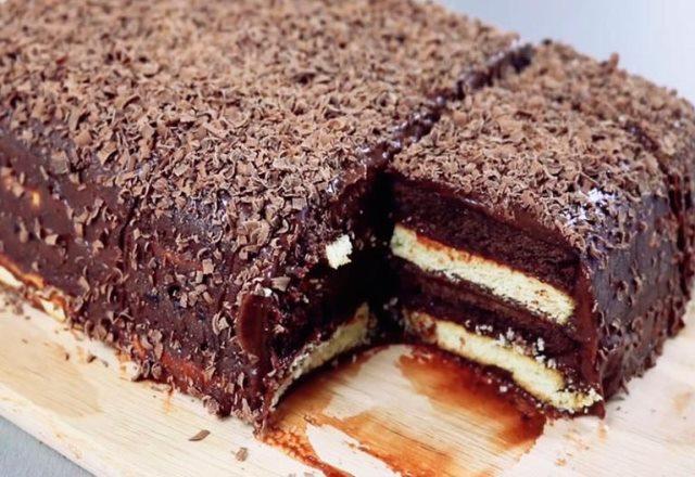 Рецепт вкуснейшего трюфельного тортика за 15 минут без выпечки 1