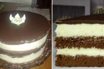 Рецепт восхитительного торта «Милка». По вкусу не отличить от знаменитых батончиков 1