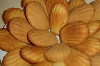 Рецепт знаменитого печенья «Мадлен» за 15 минут 1