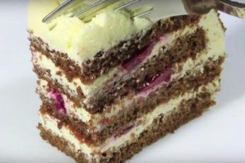 Бесподобный творожный торт за 30 минут 1