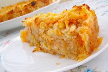 Диетический пирог без пшеничной муки с яблоками — ешь, хоть каждый день 1