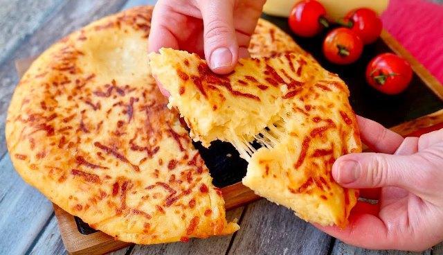 Как приготовить вкусный сырный хачапури за 15 минут. Рецепт для ленивых 1