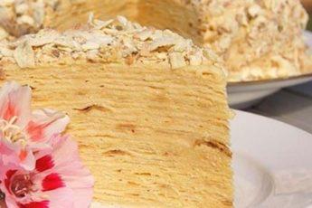 Ленивый торт «Наполеон»: рецепт из армянского лаваша 1