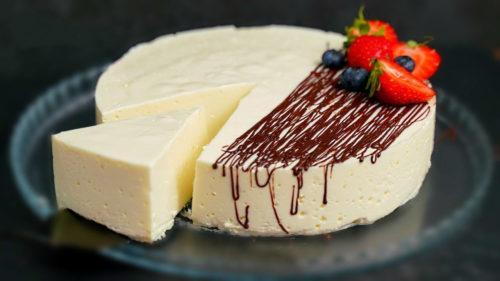 Нежный десерт без сахара, муки и масла. Всего 100 калорий на 100 г 1