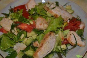 Пять вкусных фитнес-салатов для плоского живота 1