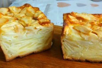 Рецепт оригинальной французской шарлотки, которая совершенно другая, чем наша 1