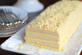 Рецепт простого, но очень вкусного торта «Славянка» с необычным кремом 1