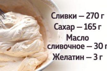 Рецепт универсального карамельного крем-мороженого 1