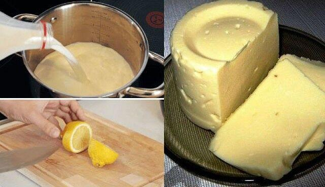 Домашний сыр за 3 часа 1