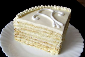 Молочный торт— идеально подходит для семейных чаепитий 1
