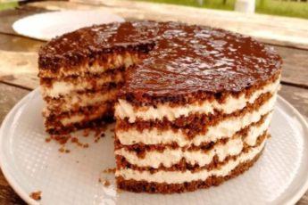 Очень вкусный торт без выпечки 1