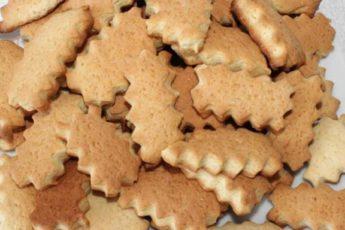Постное печенье на рассоле 1