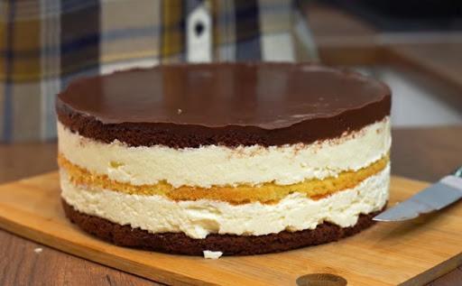Потрясающий крем для торта из манки 1