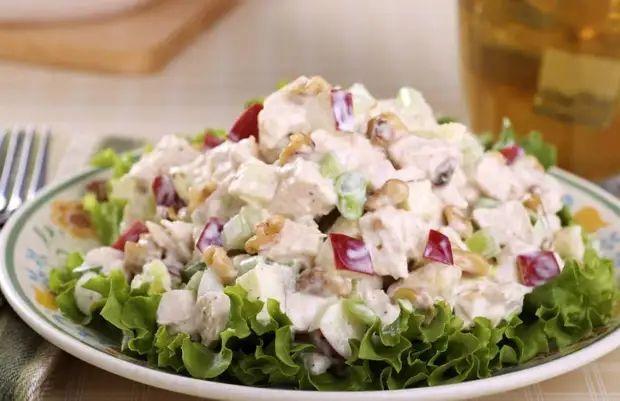 Рецепт интересного салата из простых ингредиентов 1