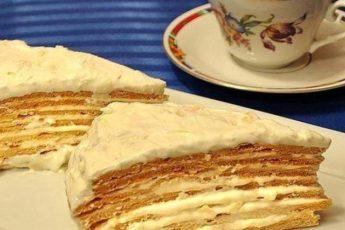 Торт «Парижский коктейль» 1