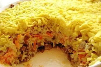 Вкусный салат «Белая ночь», который обожают в моей семье 1