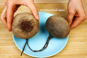 Подруга из Украины научила меня, как приготовить свеклу всего за 5 минут без варки и запекания 1