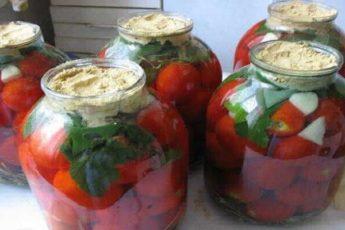 Рецепт безумно вкусных квашеных томатов с горчицей. Вкус как у бочковых!