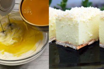 Рецепт нежного десерта без выпечки «Снежный пух». Тает во рту 1