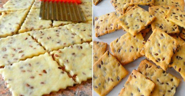 Рецепт постного печенья с семенами льна: легкое, хрустящее и очень вкусное 1