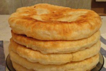 Рецепт пышных и вкусных лепешек на кефире. Часто готовлю вместо хлеба