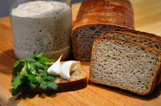 Рецепт «вечной» закваски для теста без дрожжей + рецепт хлеба 1